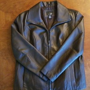 Womens East 5th Leather Jacket